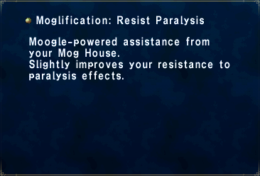 Moglification Resist Paralysis