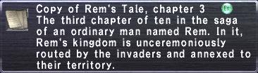 Rem's Tale, chapter 3