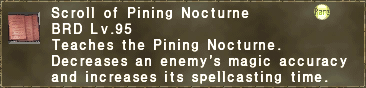Scroll of Pining Nocturne