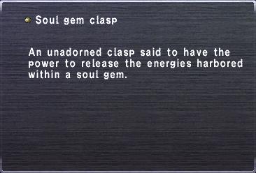 Soul gem clasp