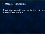 ♪Moogle companion