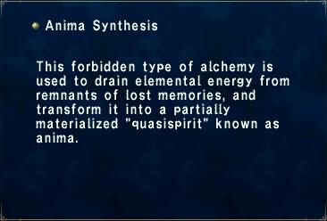Anima Synthesis