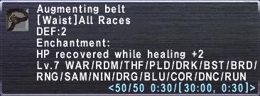 AugmentingBelt