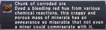 Corroded Ore