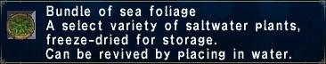 SeaFoliage