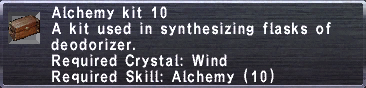 Alchemy Kit 10