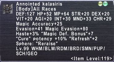 Annointed Kalasiris