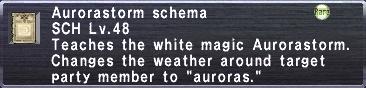 Aurorastorm Schema