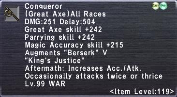 Conqueror (119)