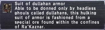 Dullahan Armor