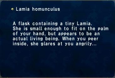 Lamia homunculus