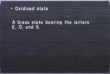 Oxidized Plate