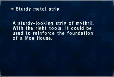 Sturdy metal strip | FFXIclopedia | FANDOM powered by Wikia