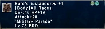 BardsJustaucorps +1