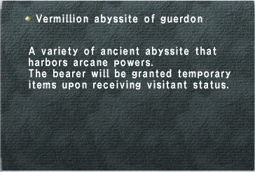 Vermillion Abyssite of Guerdon