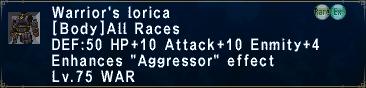WarriorsLorica