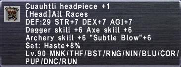 Cuauhtli Headpiece 1