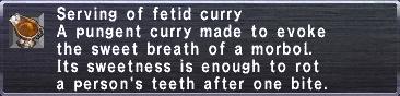 Fetid Curry