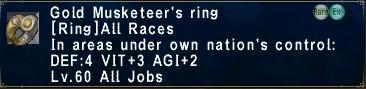 Gold mkt ring