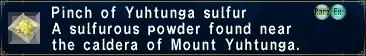 Yuhtunga-Sulfur