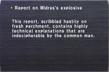 Midras explosive