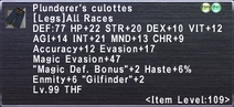 Plunderer's Culottes