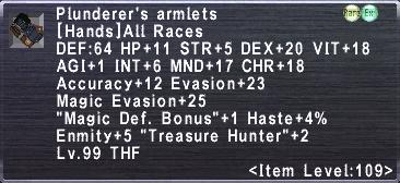 PlunderersArmlets