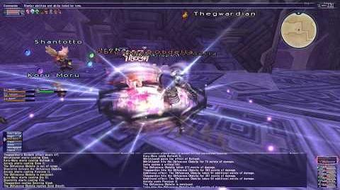 Spinning Slash - Final Fantasy XI Great Sword Weapon Skill 4K