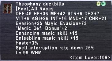 Theophany duckbills