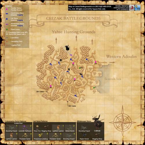 Ceizak Battlegrounds Map