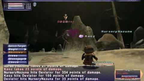 FFXI NM Saga 302 Deviator vs BST Full Battle