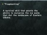 """Fragmenting"""