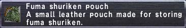 Fuma Shuriken Pouch