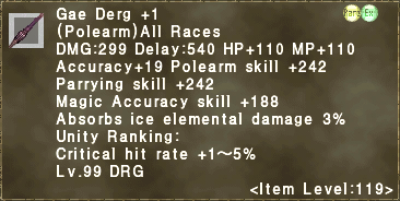 Gae Derg +1