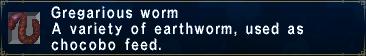 GregariousWorm