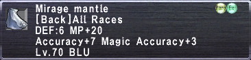Mirage mantle