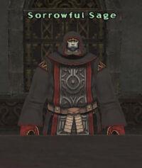 Sorrowful sage