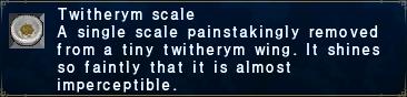 Twitherym Scale