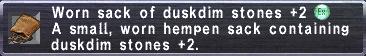 Worn Sack (DD+2)