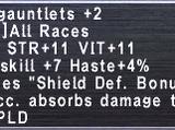 Creed Gauntlets +2
