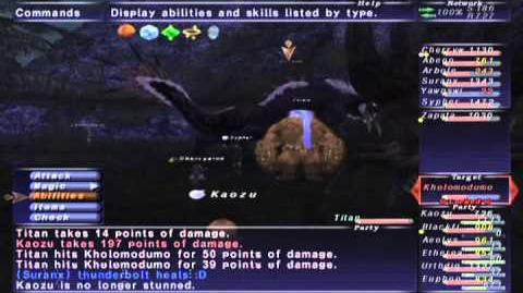 FFXI NM Saga 369 Kholomodumo (VoidWatch NM) Full Battle