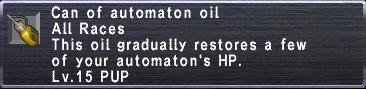 Automaton Oil