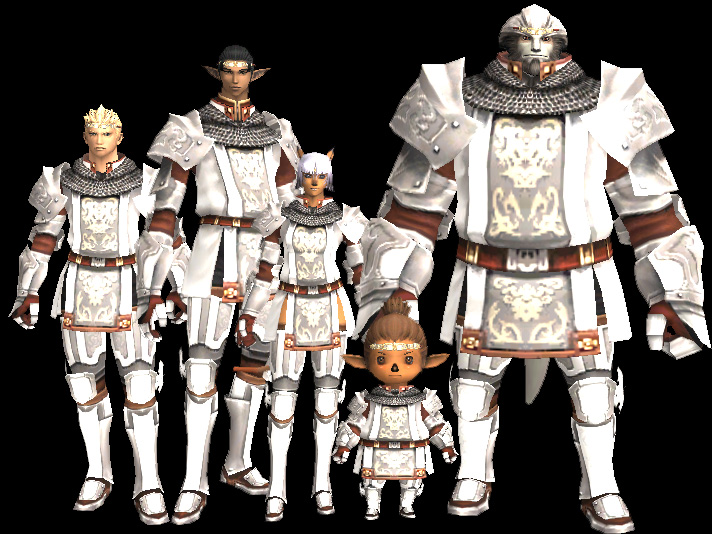 Gallant armor set ffxiclopedia fandom powered by wikia all races in full paladin artifact armor publicscrutiny Gallery