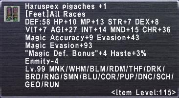 Haruspex Pigaches +1