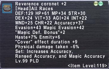 Reverence Coronet +2