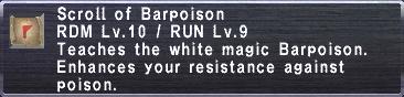 ScrollofBarpoison