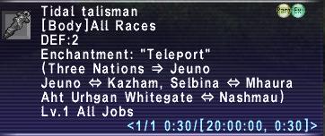 Tidal Talisman