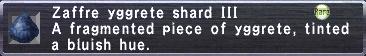 Zaffre Yggrete Shard III