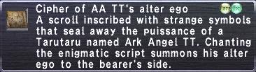 Cipher Ark TT