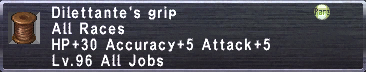 Dilettante's Grip